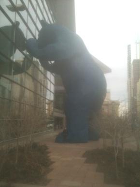 <strong>Big Blue Bear</strong>