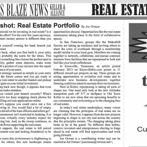 <strong>Snapshot:  Real Estate Portfolio</strong>