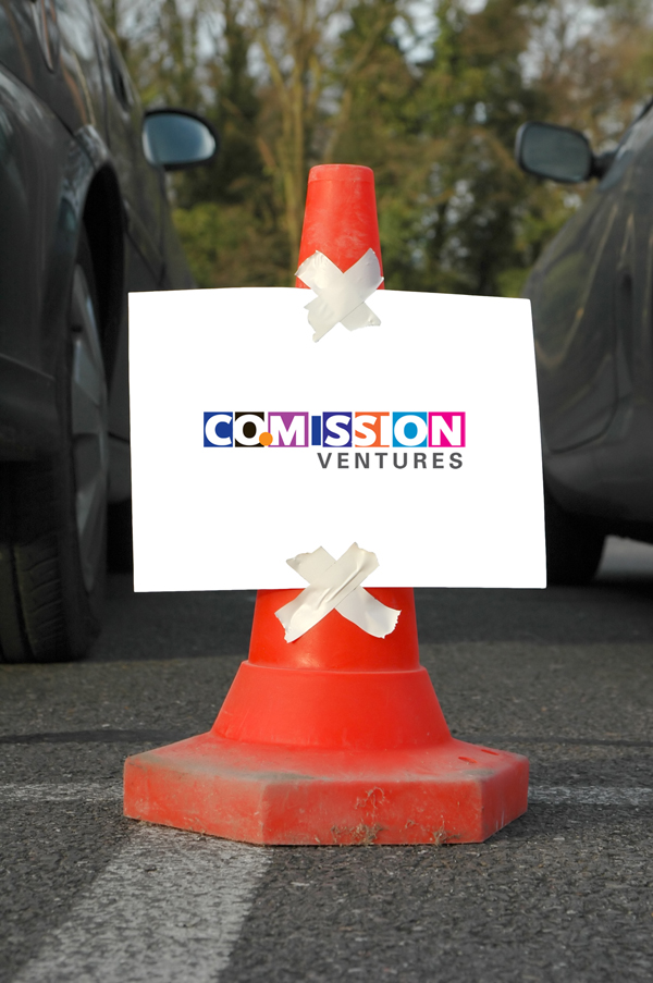 cone sign branded